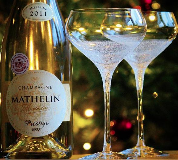 Champagne Mathelin Prestige Millesime 2011 Brut. Bild: Mousserande.se