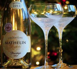 Champagnetavla. Foto Niklas Palmklint.