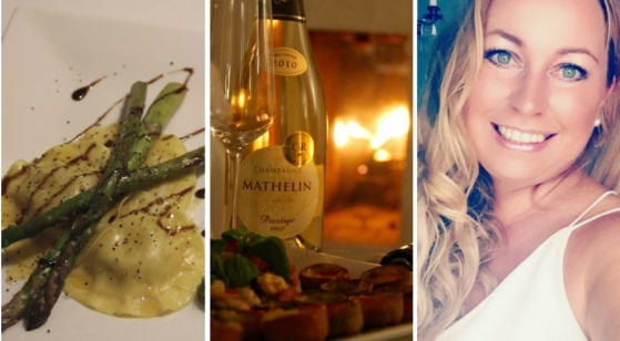 Champagne Mathelin Moment med Malin Hammar-Blomwall. Champagne Mathelin Prestige Millesime 2011 Brut.