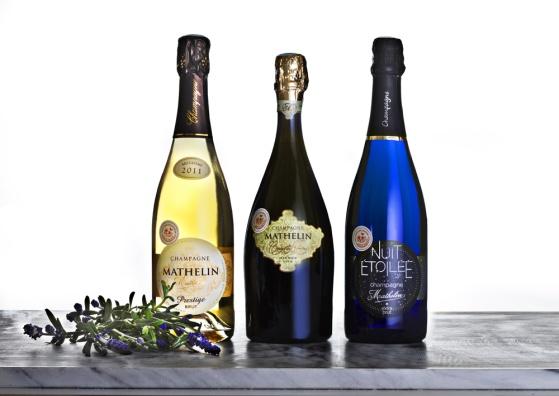 Champagne Mathelin Prestige Millesime 2011 Brut finns i våra båda Premiumlådor och i vår kompletta låda.. Foto: Niklas Palmklint.