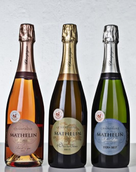 Champagne Mathelin BonneBox-låda 2 Demi