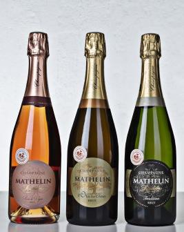 Champagne Mathelin BonneBox-låda 1 Demi