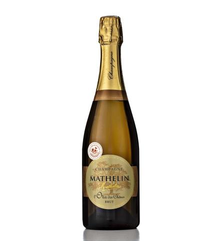 Champagne Mathelin L'Orée des Chênes Brut. Foto: Niklas Palmklint.