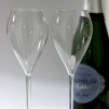 Champagneglas i BPA-fri plast, okrossbara, 2 st