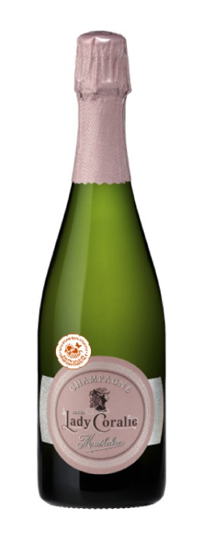 Champagne Mathelin Lady Coralie Brut.