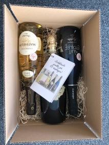 Presentlåda till champagne -