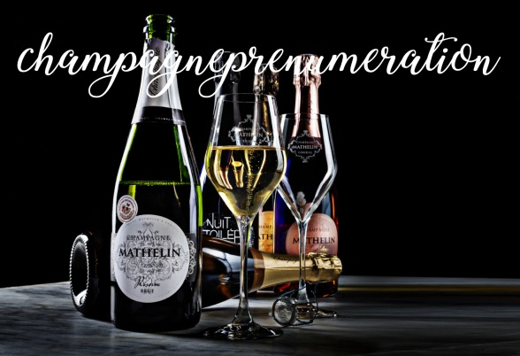 Champagneprenumeration. Foto: Niklas Palmklint.