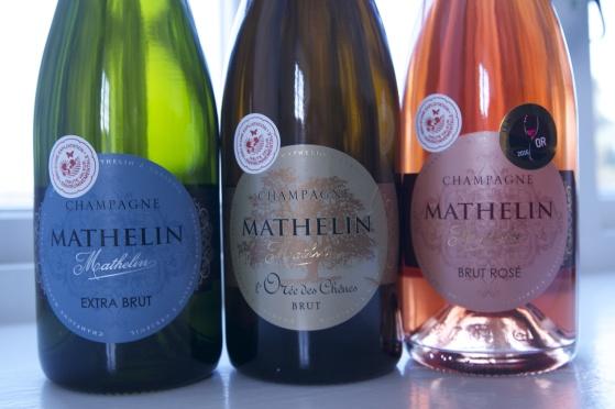 Champagne Mathelin Bonneboxlåda 2 Demi.