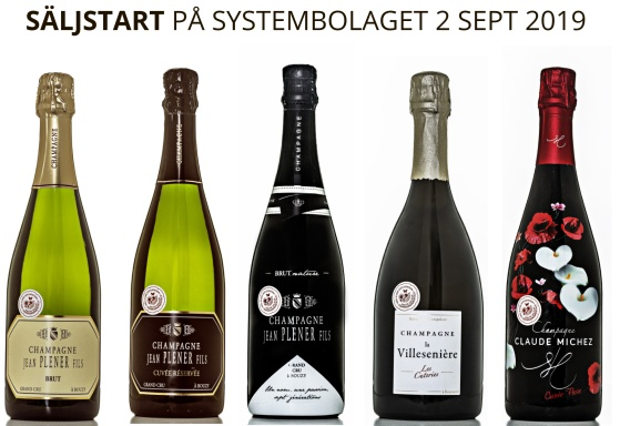 Nya spännande champagner i Bonnebox sortiment lanseras 2 september! Foto: Niklas Palmklint.