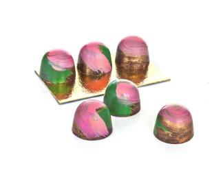 Handmålade chokladpraliner -