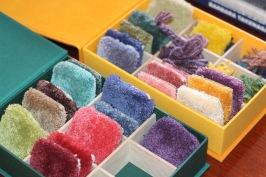 Färgkartoteket som används till skapande och kundmöten.