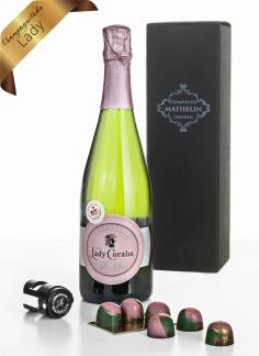 Champagnelåda Lady -