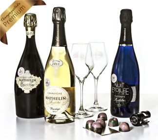 Champagnelåda Premium -