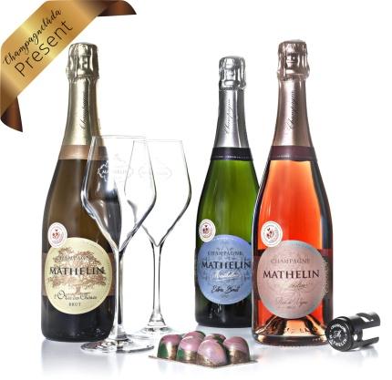 Champagnelåda Present -