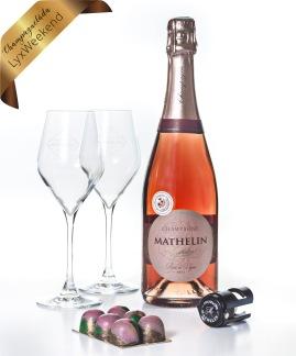 Champagnelåda LyxWeekend -
