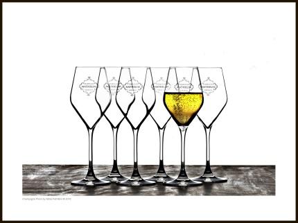 Champagne Photo – Glasses - 40 x 30 cm