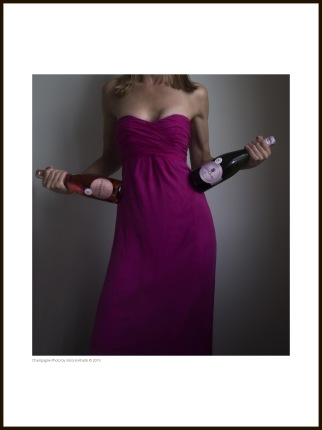 Champagne Photo – Pink Lady - 30 x 40 cm