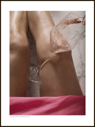 Champagne Photo – Waves of Rosé - 30 x 40 cm