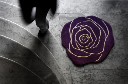 Rug – Rose/Anna Charlotte Atelier - 90 cm