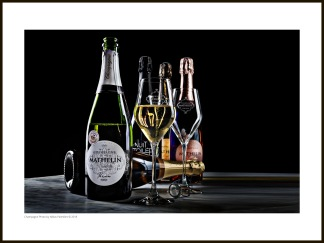 Champagne tavla – Colors of Champagne - 40 x 30 cm