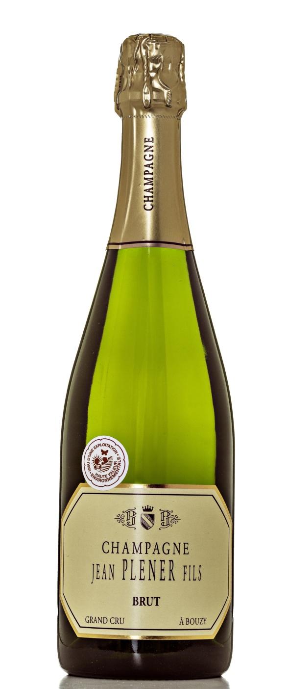 Champagne Jean Plener Fils Grand Cru Brut. Foto: Niklas Palmklint.
