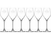 Champagneglas, 6 st