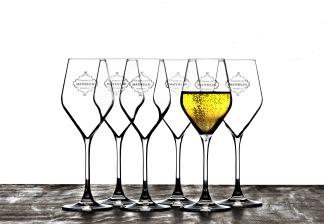 Champagneglas, 6 st -
