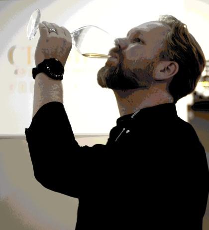 Fredrik Schelin, champagneexpert.