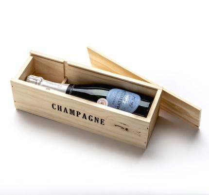 Champagneåda i trä | 1 flaska -