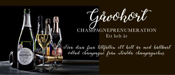 Champagneprenumeration