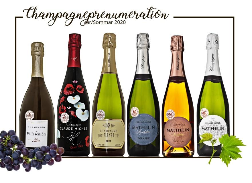 Champagneprenumeration vår/sommar 2020.