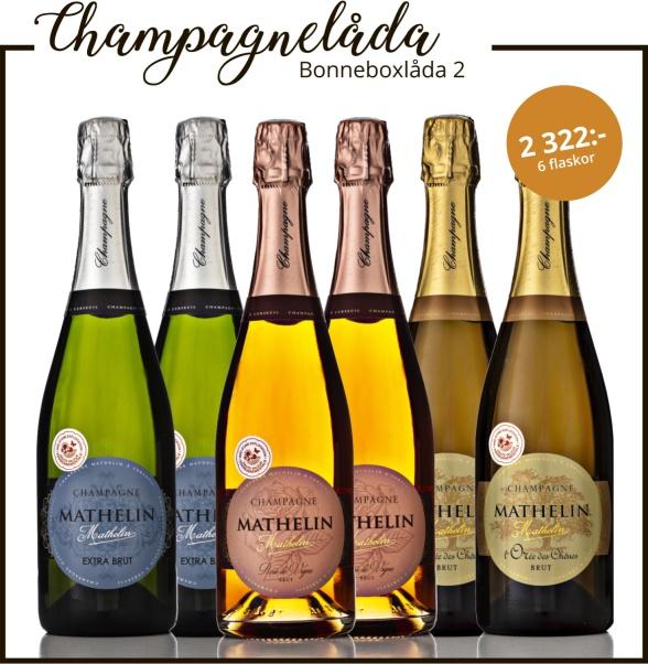 Champagne Mathelin Bonneboxlåda 2