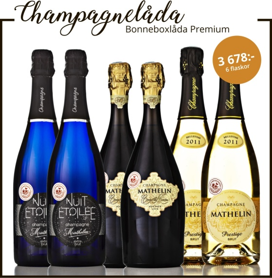 Champagne Mathelin Bonneboxlåda Premium