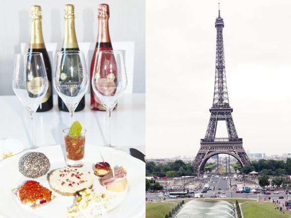 Fransk afton med champagneprovning.