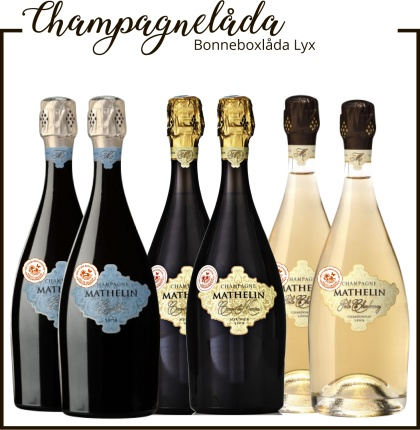 Champagne Mathelin Bonneboxlåda Lyx