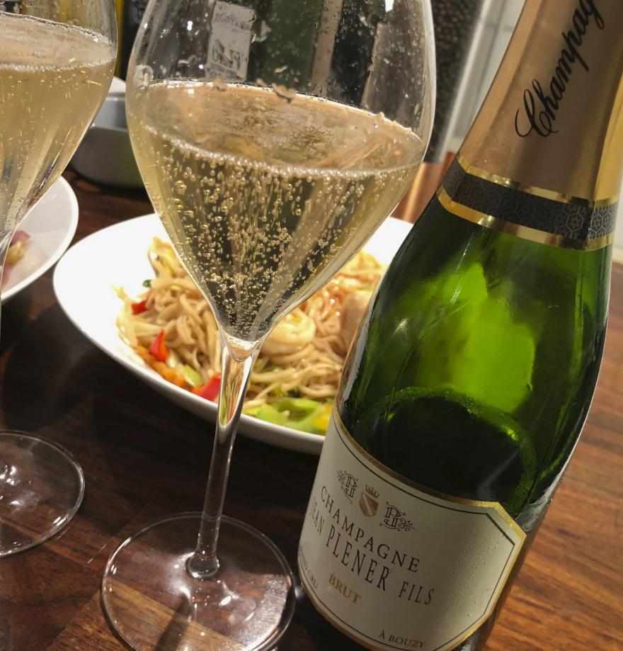 Champagne Plener halvflaska Grand Cru