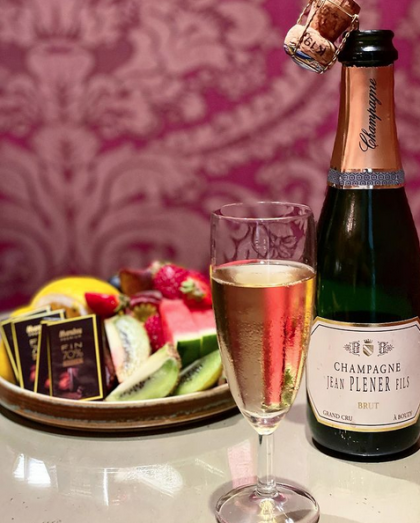 Champagne Plener halvflaska Grand Cru Brut.