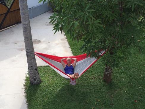 Bilden är tagen från vår balkong, om ni undrar...
