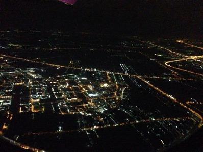 Bangkok från flyget.