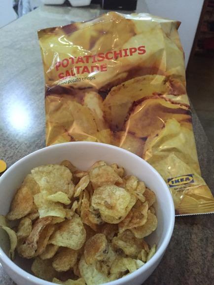 Åhhh, så gott med salta knapriga chips!!