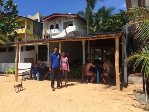 Lilla stället på stranden, Universal beach.