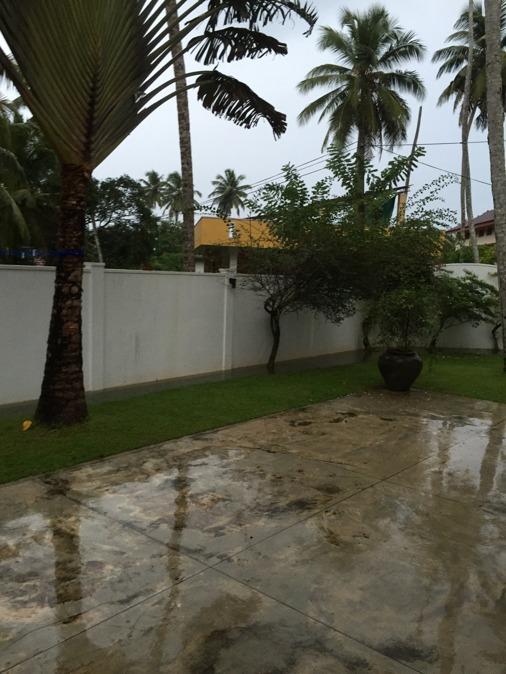 Regn i massor...