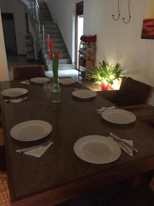 Redo för gäster.