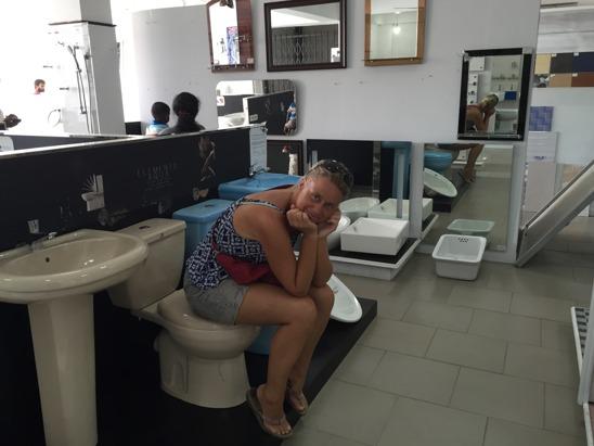 Även kakel/badrumsporslinsvisning kan bli lite tröttsamt...