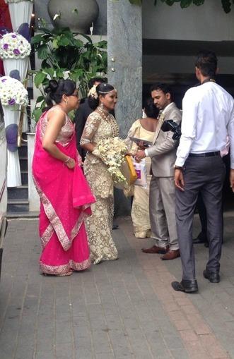 Lankesiskt bröllop.