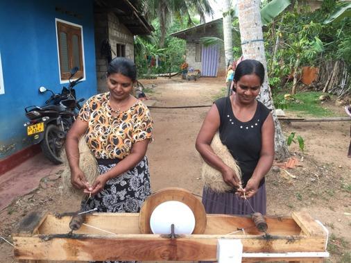 Så här gör man kokosrep.