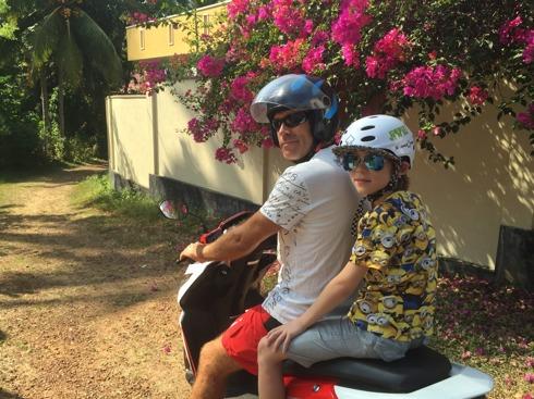 Vilka coola motorcykelgrabbar!