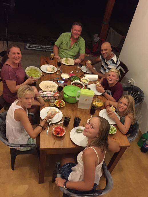Trevligt sällskap och väldigt god mat!