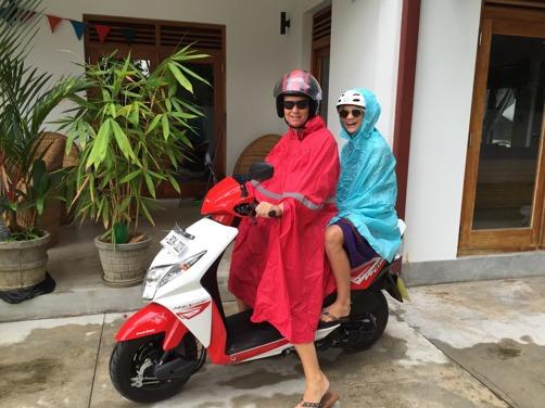 Riggade för ett lankesiskt ösregn:)