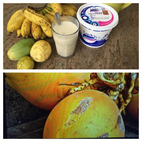 Världens godaste smoothie med världens godaste frukt!